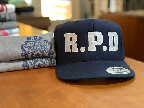 Resident Evil RPD Raccoon Police Snapback Cap - Hat by Rev-Level