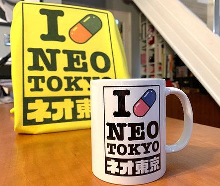 Akira and Anime I Love Neo Tokyo - Mug - Coffee Cup