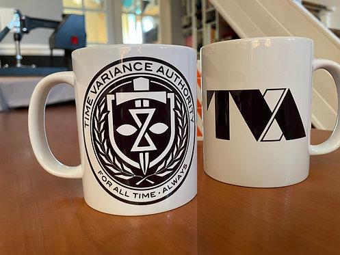 TVA Time Variance Authority Emblem Loki Mug - Coffee Cup