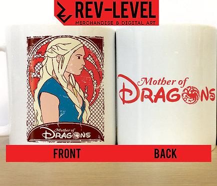 Game of Thrones Daenerys Targaryen 'Mother of Dragons' Disney Princess Mug