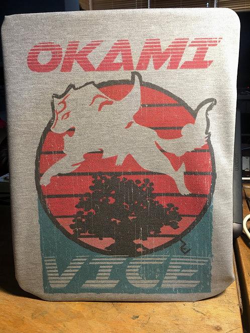 Okami Vice T-Shirt - 80s Amaterasu Inspired by Miami Vice Tee