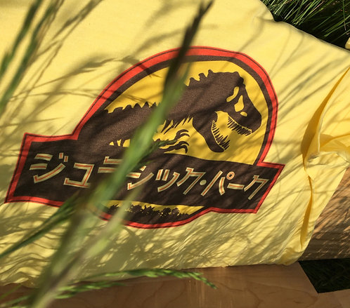 Jurassic Park Japanese T-Shirt -Inspired by Jurassic Park and World