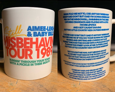 Misbehavin' Tour Mug, Inspired by Danny McBride's Righteous Gemstones Coffee Cup