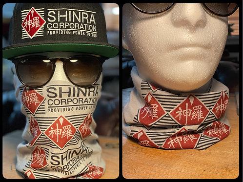 Final Fantasy VII Shinra Corporation Mask Scarf Snood Face Covering Neck Gaiter