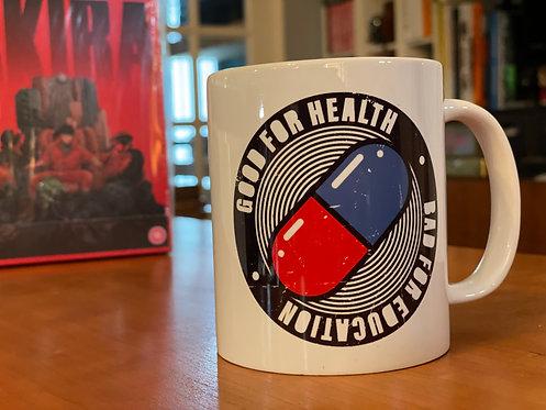 Akira Good For Education Bad For Health - Anime Mug - Coffee Cup