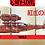 Thumbnail: Porco Rosso Plane Sketch Mug - Kurenai no Buta 紅の豚 Studio Ghibli Cup