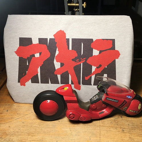 Akira Logo Tee - アキラ Neo Tokyo Anime T-Shirt