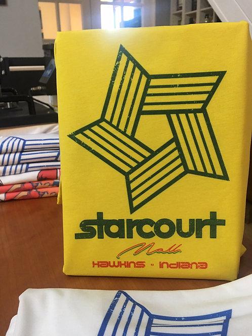 Stranger Things Starcourt Mall Logo T-Shirt - Inspired by Netflix Show Season 3