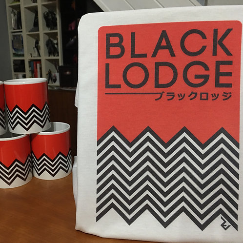 Twin Peaks Japanese Black Lodge T-Shirt - David Lynch Inspired by Minimalist Art