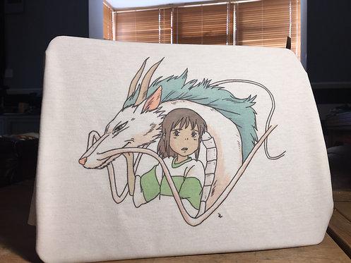 Spirited Away Chihiro and Haku T-Shirt - Studio Ghibli Miyazaki 千と千尋の神隠し Tee