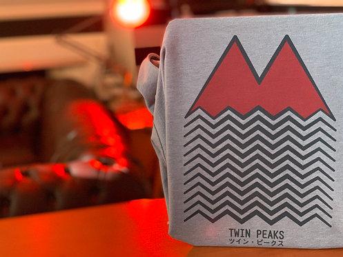 Twin Peaks Red Mountain T-Shirt - David Lynch Graphic Design