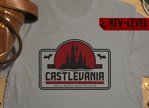 Castlevania Night Tours T-Shirt - Inspired by Akumajō Dracula