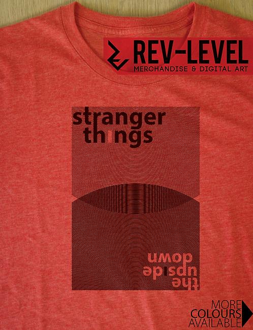 Stranger Things Minimalist Circle Inversion T-Shirt - Inspired by Netflix