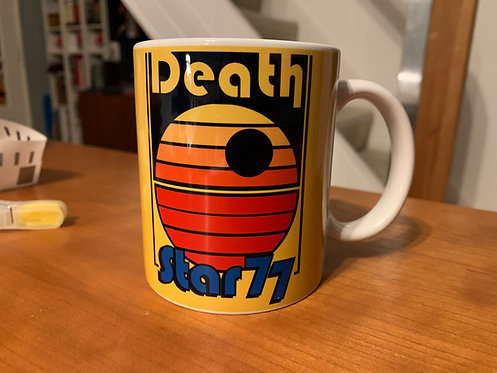 Star Wars Deat Star 77 Mug - Retro Disco Coffee Cup