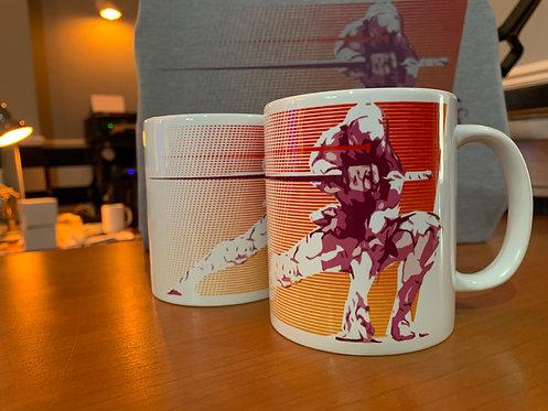 Grey Fox Cyber Ninja Frank Jaeger Mug - Metal Gear Solid Coffee Cup