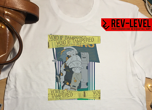 Kojima Productions Ludens 'VOID' Tape T-Shirt - Inspired by Hideo