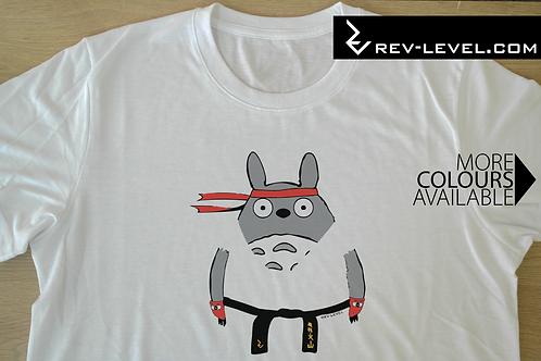 Totoryu - My Neighbour Totoro X Street Fighter T-Shirt - Totoro X Ryu