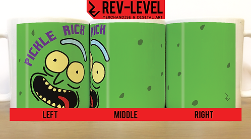 Rick and Morty Pickle Rick Mug - Rick Sanchez Is In A Pickle Cup