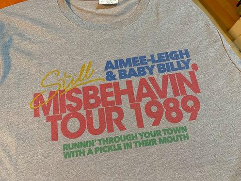 Righteous Gemstones Misbehavin Tour T-Shirt Inspired by HBO Danny McBride Show