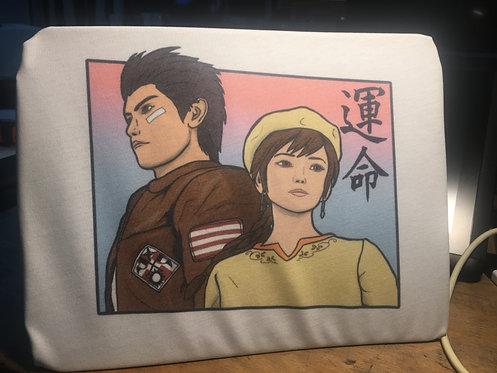 Shenmue III Ryo and Shenhua 'Destiny' T-Shirt - Sega Dreamcast