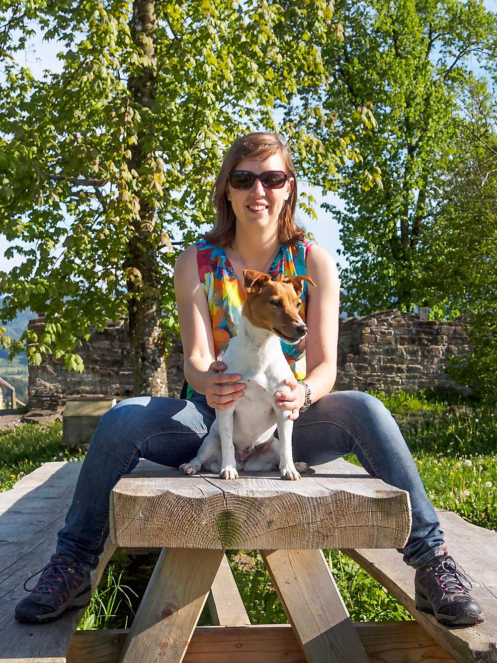 Jack Russel hond en ik
