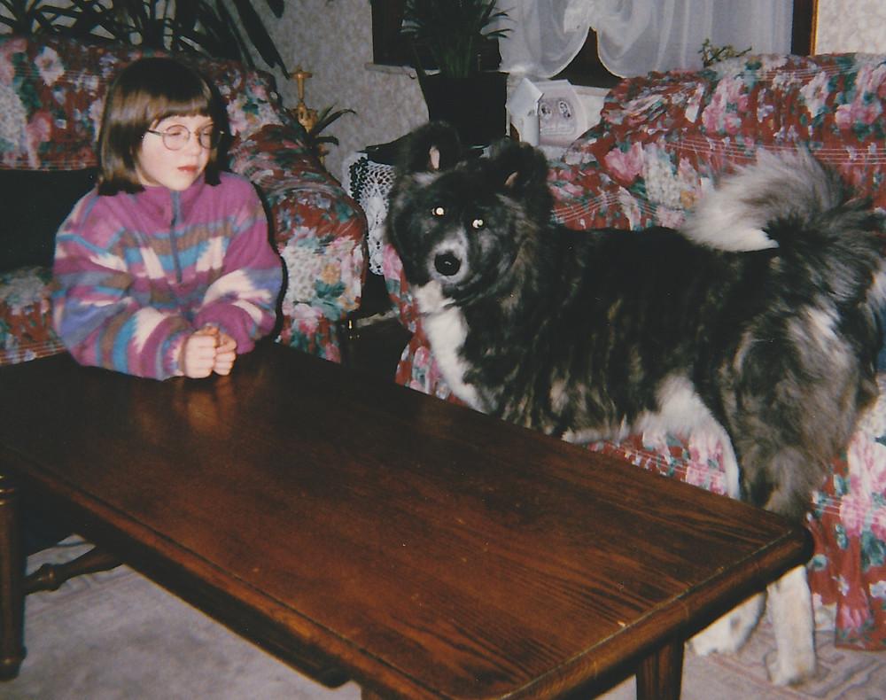 Amerkaanse akita hond