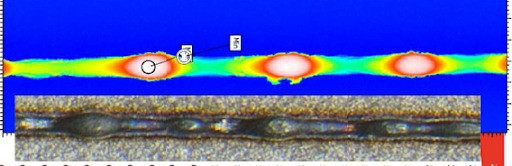 defects from high speed welding includes humping and undercuts