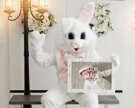 Holiday Photo Editing Services - Easter Bunny