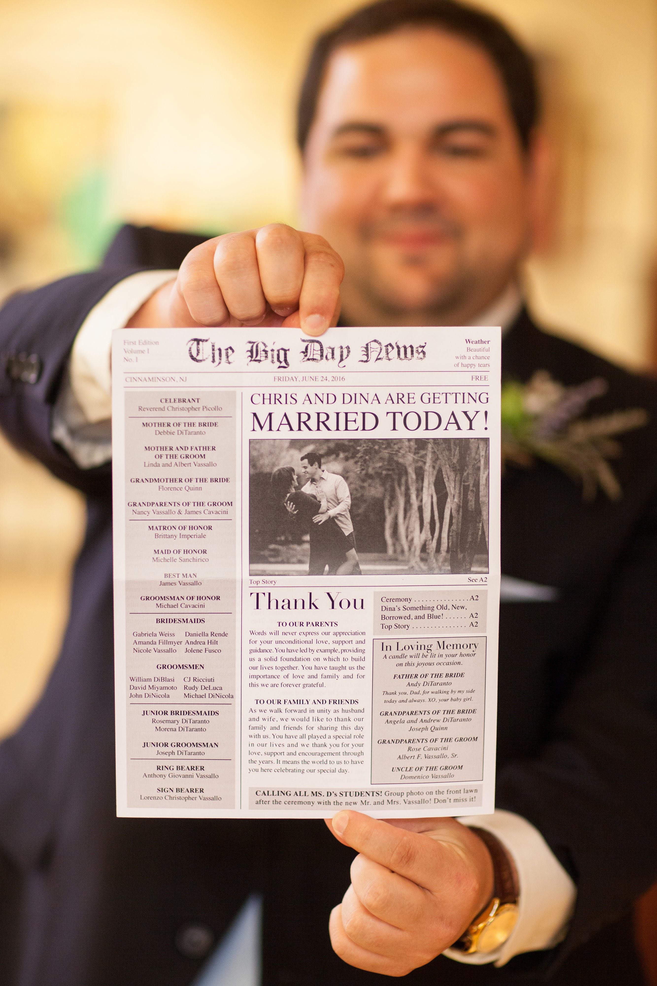 Folded Newspaper Program