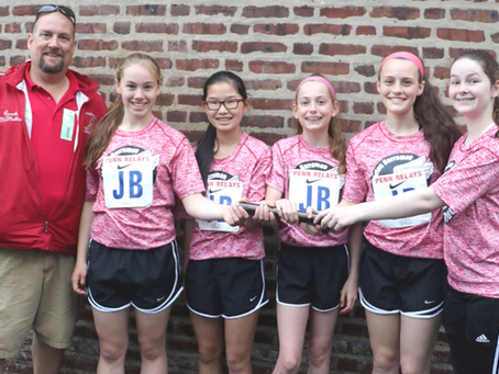 St. Charles Girls Relay Team Break Record!