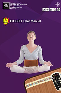 The Richway BioBelt User Manual- Read this manual before using the Biobelt to ensure you are using it correctly and safely