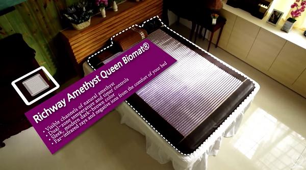 BioMat Queen 7000mx dimensions