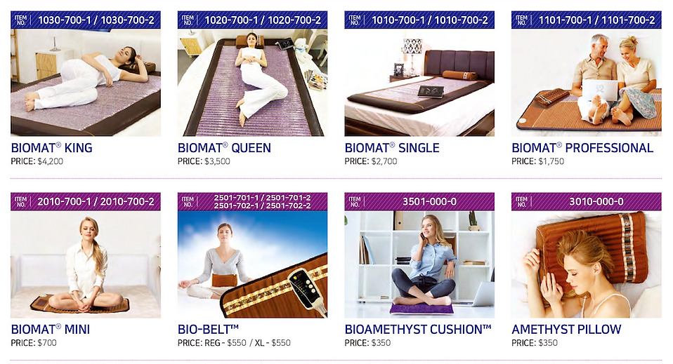 Richway BioMat Canada Product Catalogue