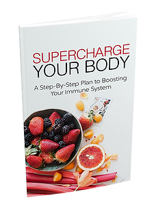SuperCharge Your Body- A Step By Step Guide To Boosting Your Immune System. Free Ebook compliments of BioMat Canada. Download Free Ebook from BioMat Canada and boost your immune system with your own BioMat.
