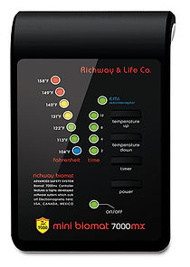 Mini BioMat EMF block digital controller is included with your mini bio mat purchase. Enjoy a hassle free experience when using the functional control panels included with all bio mat purchases.