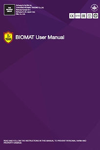 Richway BioMat User Manual is available for download here. It's important to read through the Biomat Manual before use.