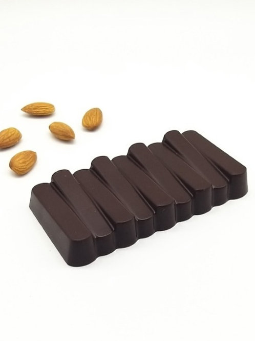 Almond Crunch Luxury Belgian Chocolate Bar