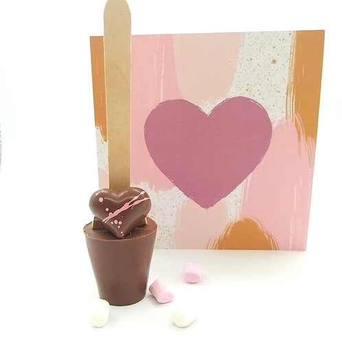 DARK Chocolate Heart Spoonz