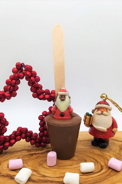 Milk Chocolate Santa Christmas Spoonz