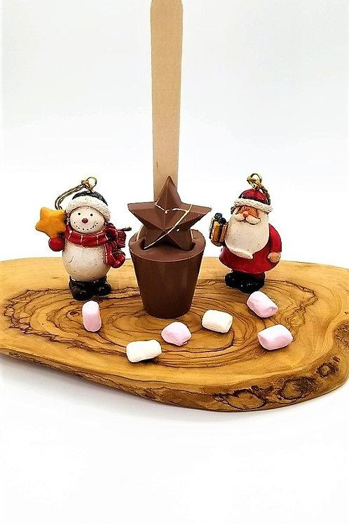 Milk Chocolate Christmas Star Spoonz