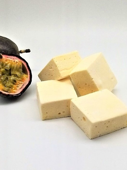 Pillowy Passionfruit Marshmallows