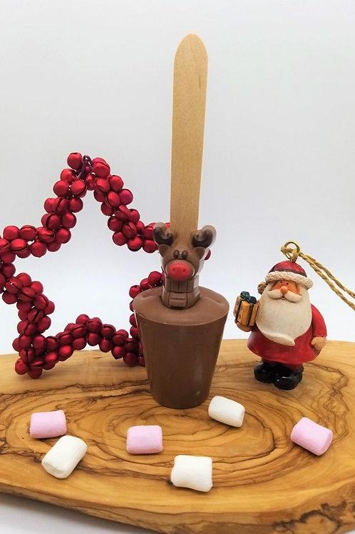 Milk Chocolate Christmas Rudolph Spoonz