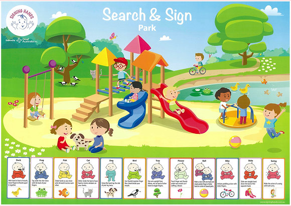 Search and Sign park poster