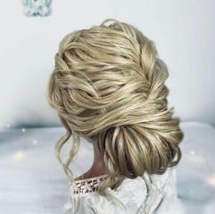 soft textured wedding hairstyle