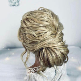 soft textured wedding hairstyle