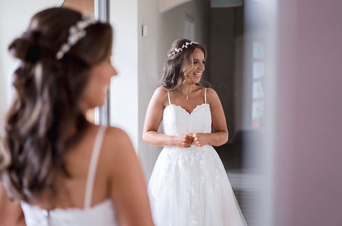 real bride- pro hair by catherine wedding hair