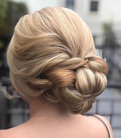 soft wedding hair upstyle