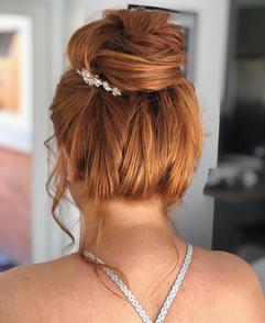 soft hair bun