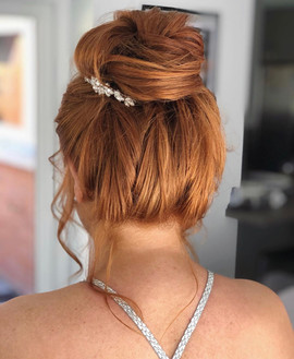 soft hair bun
