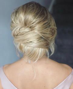 soft undone wedding hair